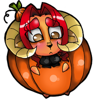 Halloween chibi Carnero by yuramec