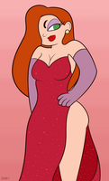 jessica rabbit by OfficialDM