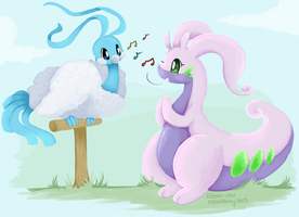 Pokeddexy Day 3: Dragon-Type (Complete!) by Eevie-chu
