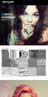 32 Glitch Art Photoshop Brushes by MrSuma