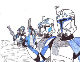 501st Gang WIP by Dominic-Skirata-X