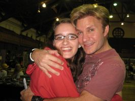 Me and Vic Mignogna at RocCon! by xRiia-Chanx