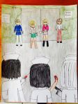 Silent Hill Anne,Heather,Maria,Angela vs Nurses by JOHNSRODRIGUEZ1997