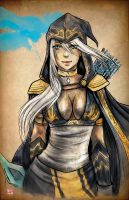 LOL- Ashe by TyrineCarver