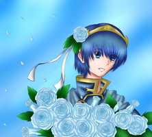 AT: Blue Roses by Lil-Riku