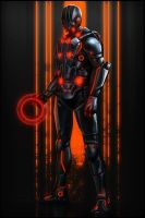 Tron Elite Guard by digitalinkrod