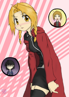 Gender-Bender: Edward Elric by KariLavern