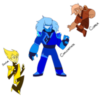 Blue Salt's Fusion by XombieJunky