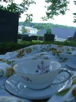 tea and tombstones by w0rmwood