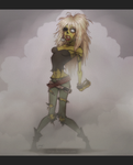 Metalhead Zombie Chick by DJ88