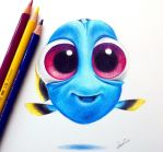 Baby Dory! by Tinesdierportretten