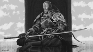 Dark Souls 2: Sir Alonne (practice) by MenasLG