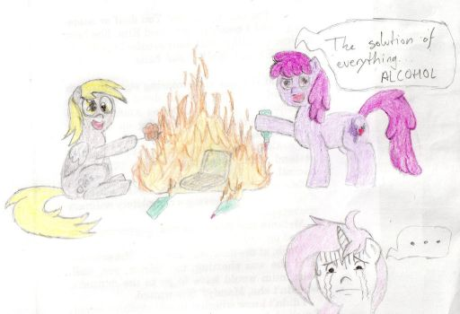 Cotton Candy's emergency contest by Ruben98RaptoR