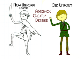 Could Use Feedback For OC Redesign, Also Ask Milo by Capt-Exce77ence