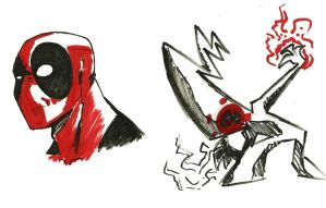 oh Hey its Deadpool by callme-Nobodi