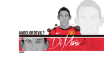 Di Maria Angel or Devil by julianodesign