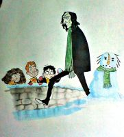 Merry Christmas, Mr. Snape by theintrovert