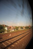 View from the train by drewhoshkiw