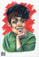Denise Huxtable by ActionHankBeard