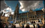 Munich MarienPlatz - WP by superjuju29