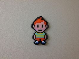 Claus - Mother 3 - Fuse Beads by chocovanillite