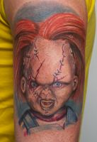 chuckie tattoo by graynd