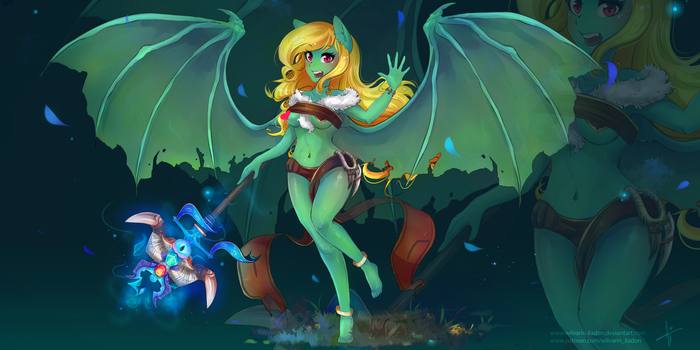 Dragonrage Honeymint by Wilvarin-Liadon