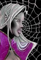 A drows web by angelrah