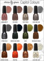 HUNGER GAMES NAIL POLISH PREVIEW by Ninja-Saurus