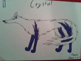 crystal (old) by Animedevildeman