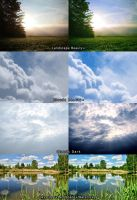 Landscape-Skyscape-Waterscape Action Pack by Kirtan-3d