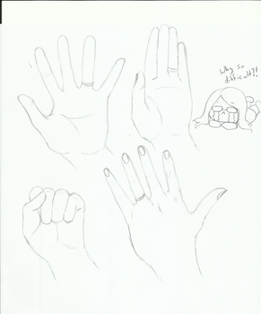 Hand Study (bleh) by PandaArtSpresso