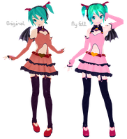 DT Heart Hunter Miku Retexture by Xoriu