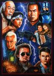 Back to the Movies Action 80's (Version II) by Chrisroma