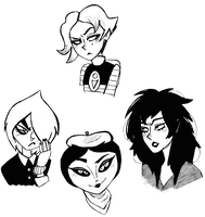 Gothy Girls by That-Love-Voodoo