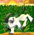 Absol Wall Design by afrolady114
