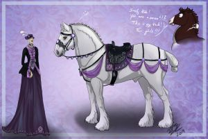 Side Saddle-Tack + Dress CLOSED by Loliigo