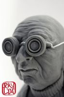 Professor Farnsworth Closeup by artanis-one