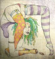 clowny contortion by MandaLea