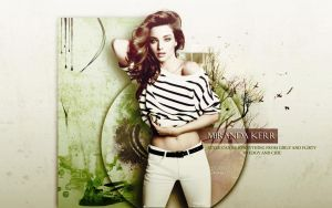 Miranda Kerr Wallpaper by kiznova