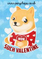 Wow, Such Valentine by ponychops