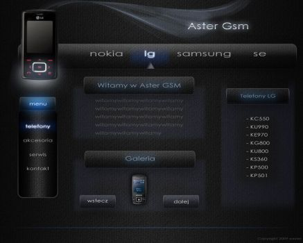 Service AsterGSM by Xavier-Themes
