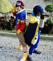 Digi Kaiser and Daisuke - Anima recife 2013 by Baka-Pamps
