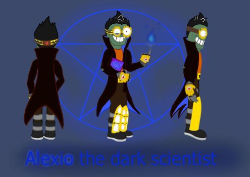 Alexio the dark scientist  by megalon1337