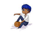 knb :aomine by SugarBella