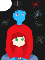 4 of July with the count by babybunny80