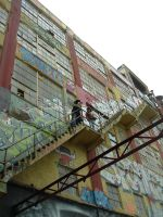 Up There at 5 Pointz by PanPanMomo
