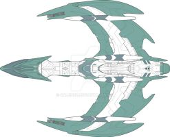 Romulan D'shara WIP 11 Nov 09 by Galen82