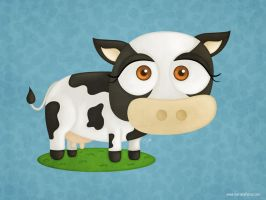 Random Cow by KellerAC