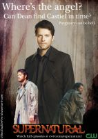 Supernatural Ad - Where's the angel? by KriticKilled